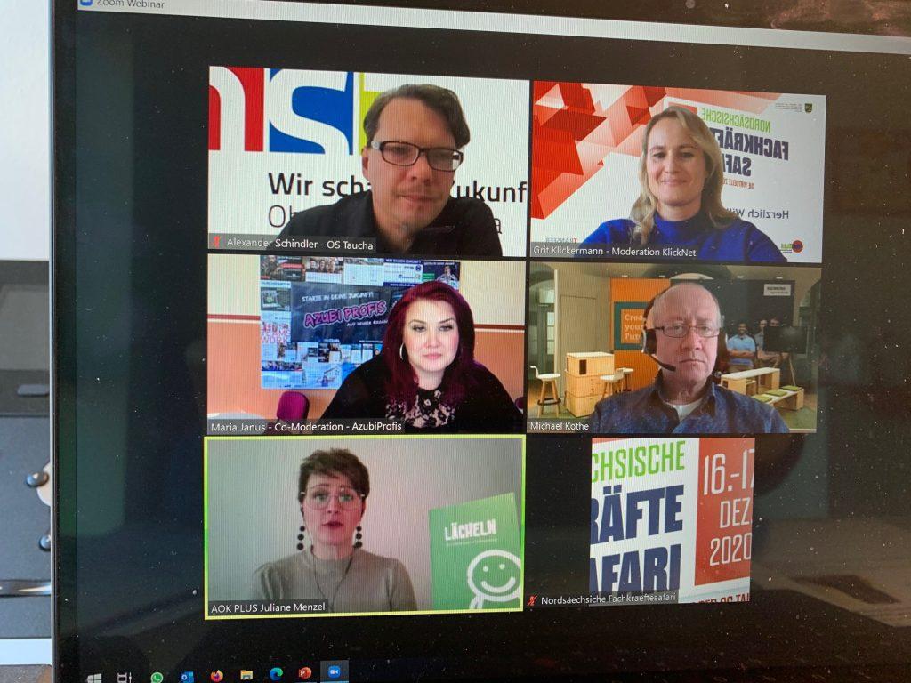Ansicht 1 Videokonferenz