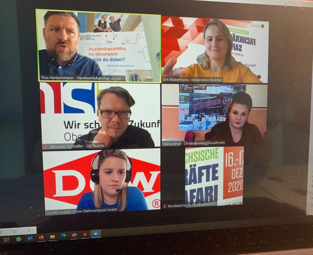 Ansicht 2 Videokonferenz